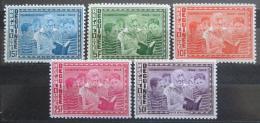 Poštovní známky Guinea 1964 Eleanor Roosevelt, deklarace lidských práv Mi# 242-46