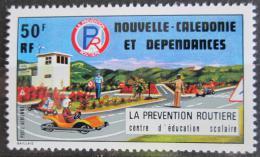 Poštovní známka Nová Kaledonie 1977 Bezpeènost silnièního provozu Mi# 591
