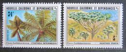Poštovní známky Nová Kaledonie 1979 Flóra Mi# 636-37