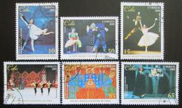 Poštovní známky Kuba 2008 Státní balet Mi# 5140-45 Kat 6€