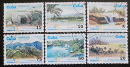 Poštovní známky Kuba 2006 Pøírodní krásy Mi# 4841-46