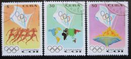 Poštovní známky Kuba 1994 Mezinárodní olympijský výbor Mi# 3755-57
