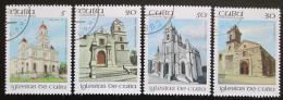 Poštovní známky Kuba 1992 Kostely Mi# 3645-48