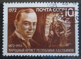 Poštovní známka SSSR 1972 Leonid Sobynov, operní zpìvák Mi# 3999