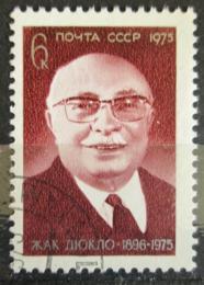 Poštovní známka SSSR 1975 Jacques Duclos, politik Mi# 4394