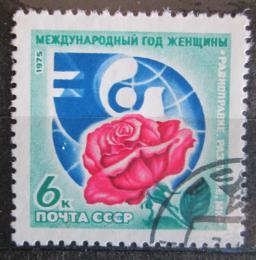 Poštovní známka SSSR 1975 Mezinárodní rok žen Mi# 4408