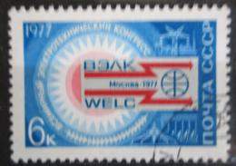 Poštovní známka SSSR 1977 Kongres elektrotechniky Mi# 4588