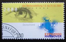 Poštovní známka Nìmecko 2000 EXPO výstava Mi# 2089