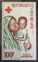 Poštovní známka SAR 1965 Èervený køíž, matka s dítìtem Mi# 97