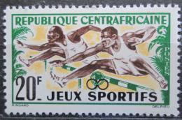 Poštovní známka SAR 1962 Pøekážkový bìh Mi# 25