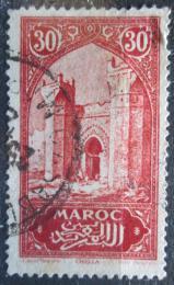 Poštovní známka Francouzské Maroko 1923 Mìstská brána Chella Mi# 56