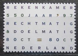 Poštovní známka Nizozemí 1997 Nejvyšší kontrolní úøad, 550. výroèí Mi# 1619
