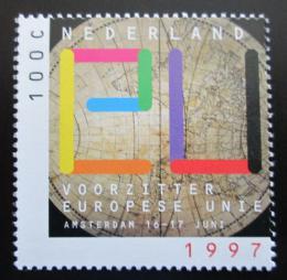 Poštovní známka Nizozemí 1997 Pøedsednictví Evropské unie Mi# 1622