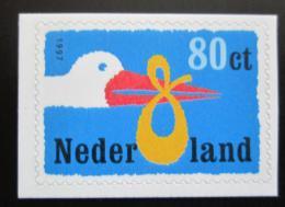 Poštovní známka Nizozemí 1997 Èáp pøináší dítì Mi# 1631 I