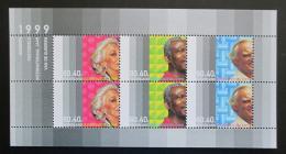 Poštovní známky Nizozemí 1999 Mezinárodní rok seniorù Mi# Block 59 Kat 8.50€