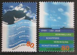 Poštovní známky Nizozemí 1999 Vodní zemì Mi# 1716-17