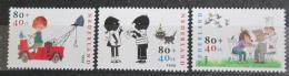 Poštovní známky Nizozemí 1999 Postavièky z dìtských knih Mi# 1750-52