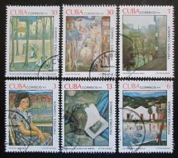 Poštovní známky Kuba 1979 Umìní Mi# 2404-09