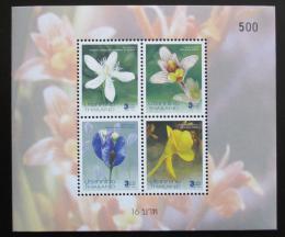 Poštovní známky Thajsko 2004 Kvìtiny, Nový rok Mi# Block 184