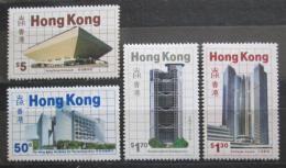 Poštovní známky Hongkong 1985 Moderní budovy Mi# 474-77 Kat 17€