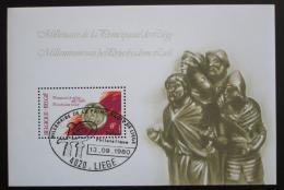 Poštovní známka Belgie 1980 Knížectví Lutych milénium Mi# Block 50