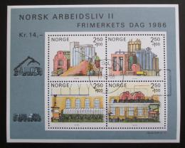 Poštovní známky Norsko 1986 Partnerská mìsta Mi# Block 6 Kat 8€