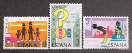 Poštovní známky Španìlsko 1976 Bezpeènost silnièního provozu Mi# 2205-07