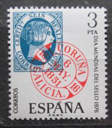 Poštovní známka Španìlsko 1976 Svìtový den známek Mi# 2211