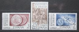 Poštovní známky Španìlsko 1976 Zaragoza, 2000. výroèí Mi# 2212-14
