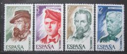 Poštovní známky Španìlsko 1977 Osobnosti Mi# 2284-87