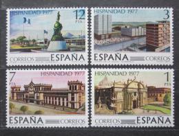Poštovní známky Španìlsko 1977 Guatemala Mi# 2331-34