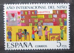 Poštovní známka Španìlsko 1979 Mezinárodní rok dìtí Mi# 2411