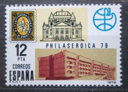 Poštovní známka Španìlsko 1979 Výstava PHILASERDICA Mi# 2416