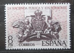 Poštovní známka Španìlsko 1980 Finanèní reforma Bourbonù Mi# 2465