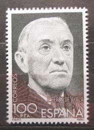 Poštovní známka Španìlsko 1980 Ramón Pérez de Ayala, spisovatel Mi# 2470