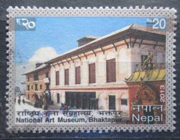 Poštovní známka Nepál 2013 Muzeum umìní, Bhaktapur Mi# 1114