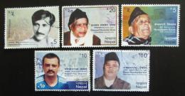 Poštovní známky Nepál 2013 Osobnosti Mi# 1094-98