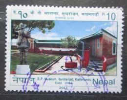 Poštovní známka Nepál 2012 Muzeum v Kathmandu Mi# 1059