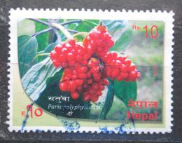Poštovní známka Nepál 2015 Paris polyphylla Mi# 1202