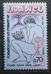 Poštovní známka Francie 1975 Péèe o nemocné studenty Mi# 1927