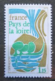 Poštovní známka Francie 1975 Region Pays de la Loire Mi# 1931