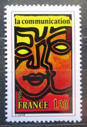 Poštovní známka Francie 1976 Komunikace Mi# 1968