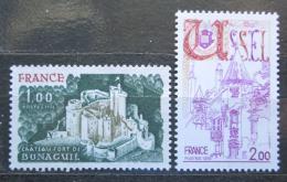 Poštovní známky Francie 1976 Turistika Mi# 1976-77