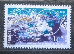 Poštovní známka Francie 1976 Institut jaderného výzkumu Mi# 1997