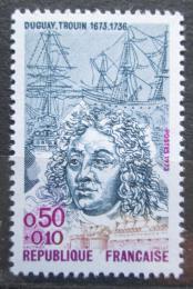 Poštovní známka Francie 1973 René Duguay-Trouin, moøeplavec Mi# 1841