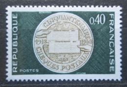 Poštovní známka Francie 1968 Poštovní služby Mi# 1609