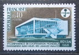 Poštovní známka Francie 1968 Kongresová hala v Royan Mi# 1620