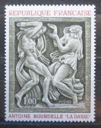 Poštovní známka Francie 1968 Socha, Antoine Bourdelle Mi# 1640