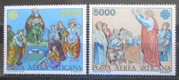 Poštovní známky Vatikán 1983 Umìní, Svìtový rok komunikace Mi# 842-43 Kat 7€