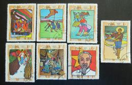 Poštovní známky Kuba 1970 Ho Chi Minh Mi# 1599-1605